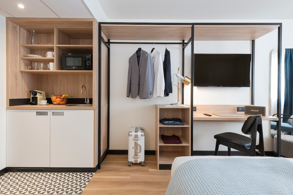 Tulip residences Joinville-le-Pont 94 rooms 2 travellers